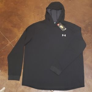 NWT Under Armour Cold Gear Hooded Pullover XXL